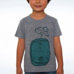 Kelp Kid Fins Kids T- Shirt